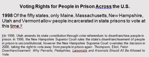 Timeline of Massachusetts Incarcerated Voting Rights