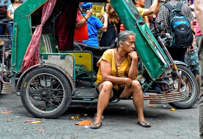 Lady Tricycle Driver