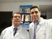 Με τον διεθνούς φήμης Καθηγητή Jean-Marc Chevallier, κατά τη διάρκεια της εξειδίκευσης στη Χειρουργική της Παχυσαρκίας (Hôpital Européen Georges-Pompidou, Paris 2015).