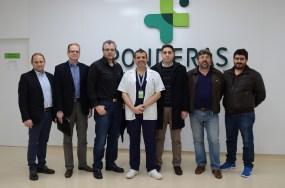 Εκπαιδευτικό σεμινάριο υπερεξειδίκευσης στη Χειρουργική της Παχυσαρκίας (Ponderas Center of Excellence of Laparoscopic and Bariatric Surgery, Bucharest 2016).