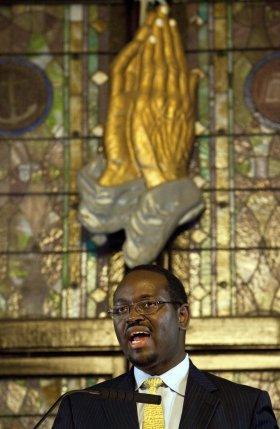 Rev. Clementa Pinckney Preaching at AME Emanuel