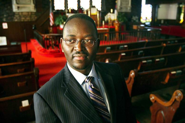 Rev. Clementa Pinckney at Mother Emanuel AME