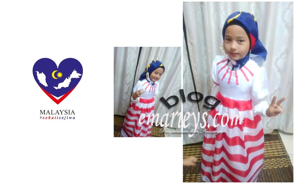 Baju Patriotik Ambang Merdeka
