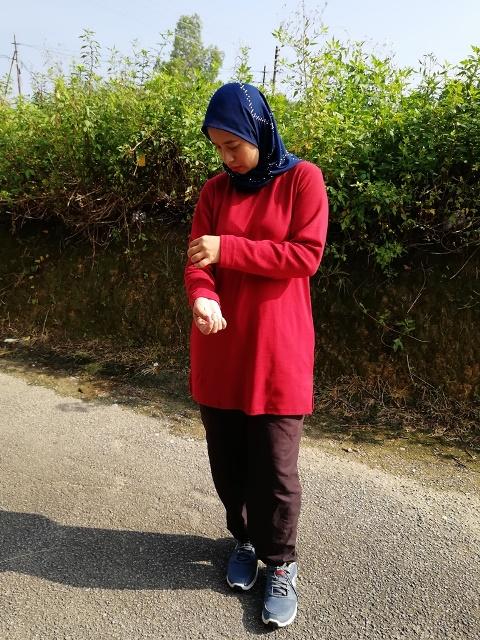 Tshirt Muslimah Hana Tajuddin