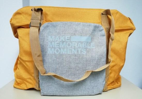 Bercuti Dengan Travel Bag Dari PTT Outdoor, Dari Kecil Jadi Besar Mudah Dibawa Jimat Ruang
