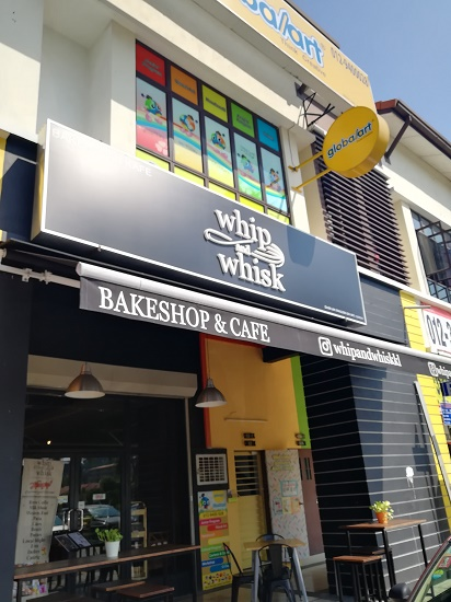 Cafe Whip and Whisk Alam Damai