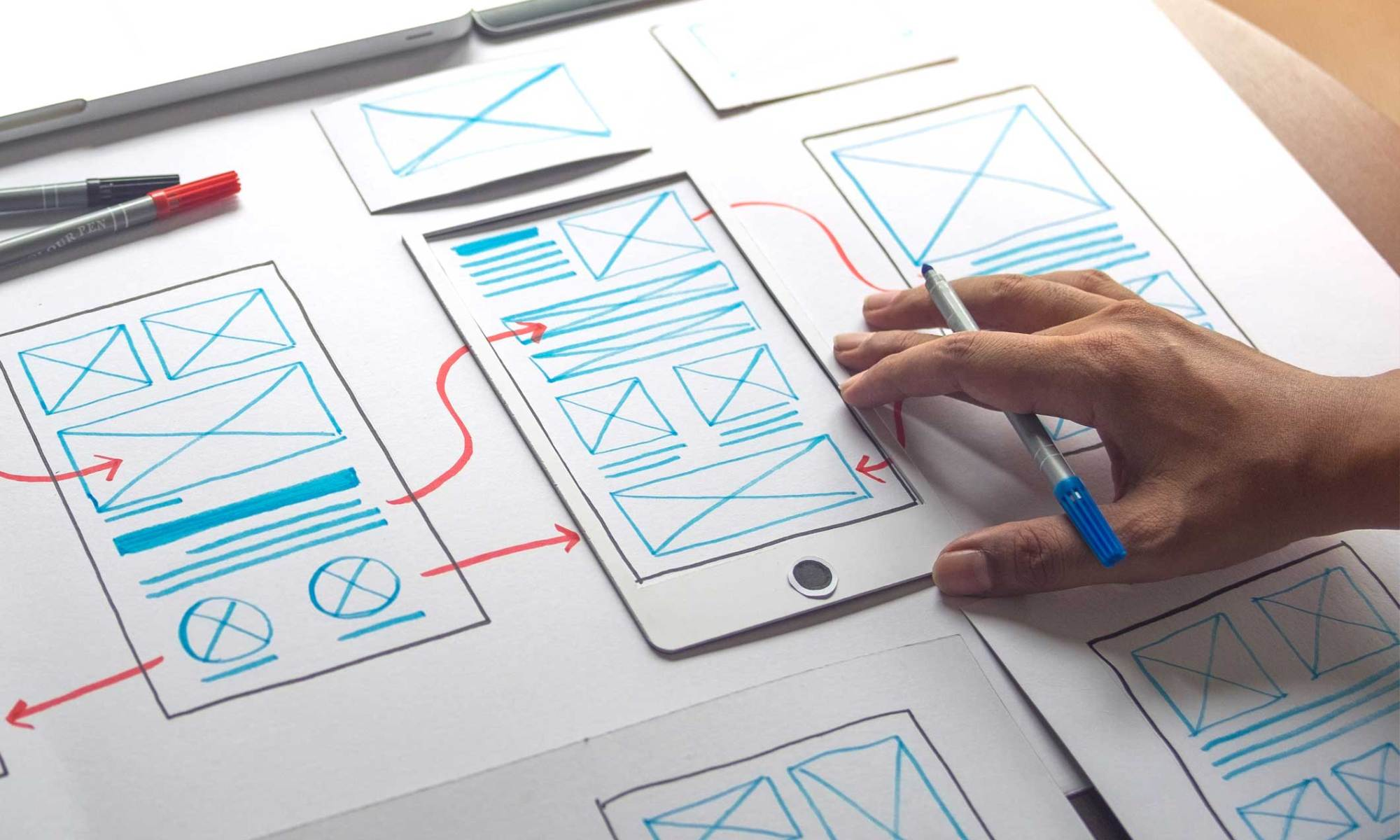 Planning of strategic online marketing
