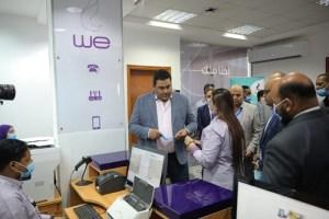 افتتاح محطات انزال رأس غارب والزعفرانه