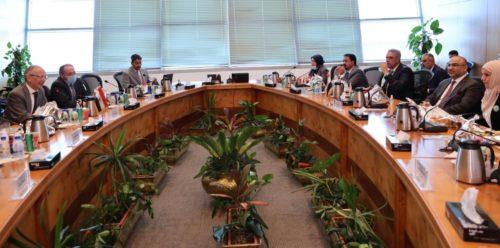 رئيس هيئة ايتيدا يستقبل وزير الاتصالات بجمهورية العراق