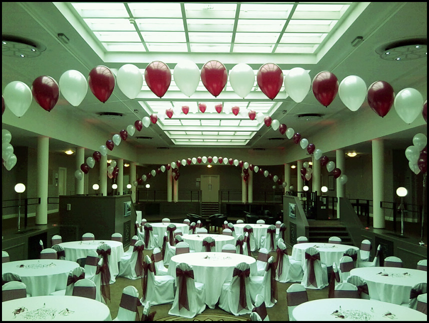 25th Wedding Anniversary Party Decorating Ideas