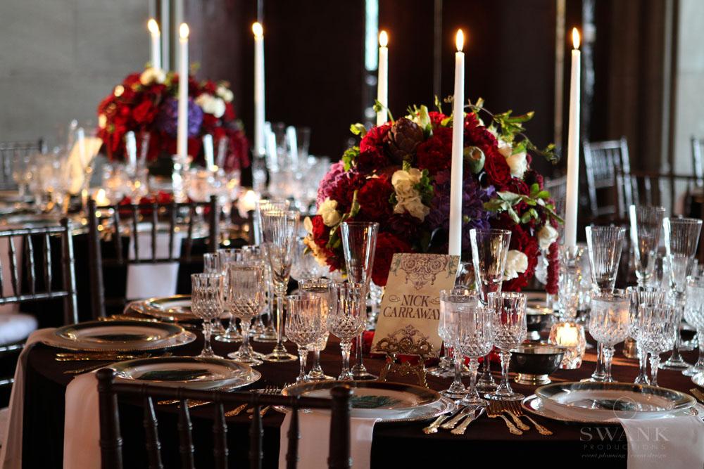 Great Gatsby Wedding Reception