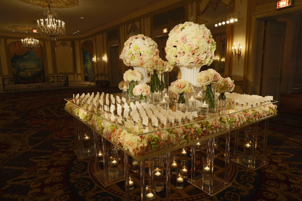 Wedding Place Card Table Decorations