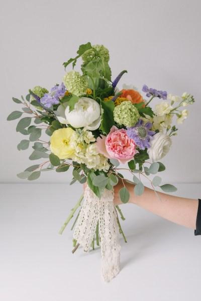 Buchet De Flori Cu Trandafiri David Austin