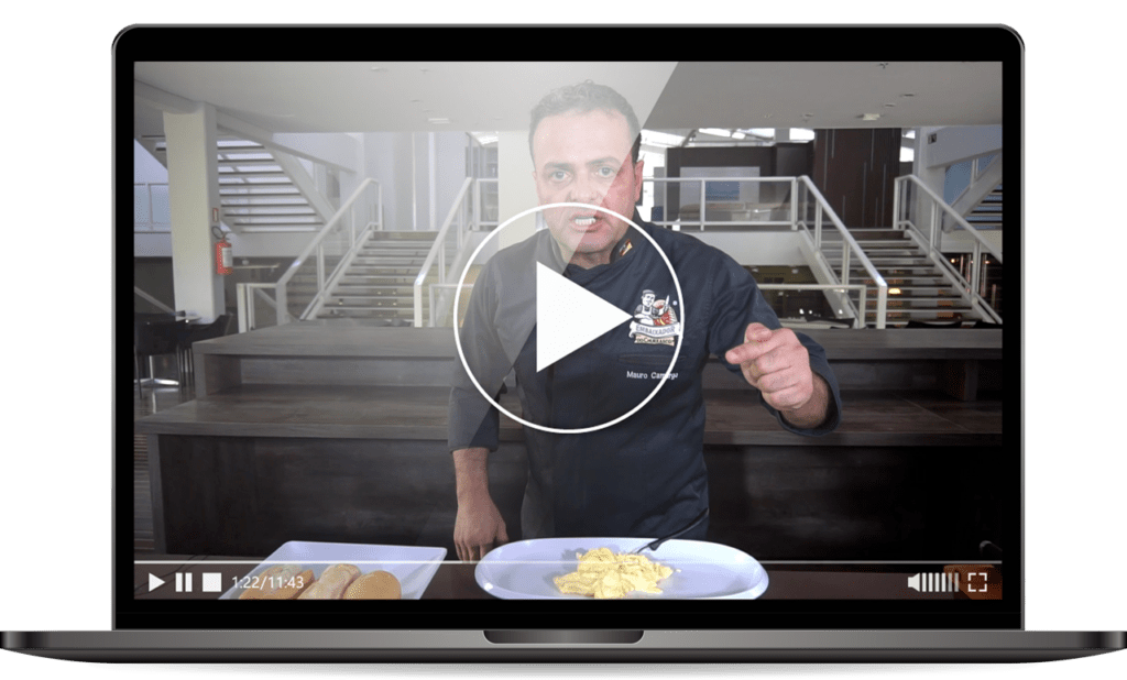 Video de receita de pao de alho do embaixador do churrasco