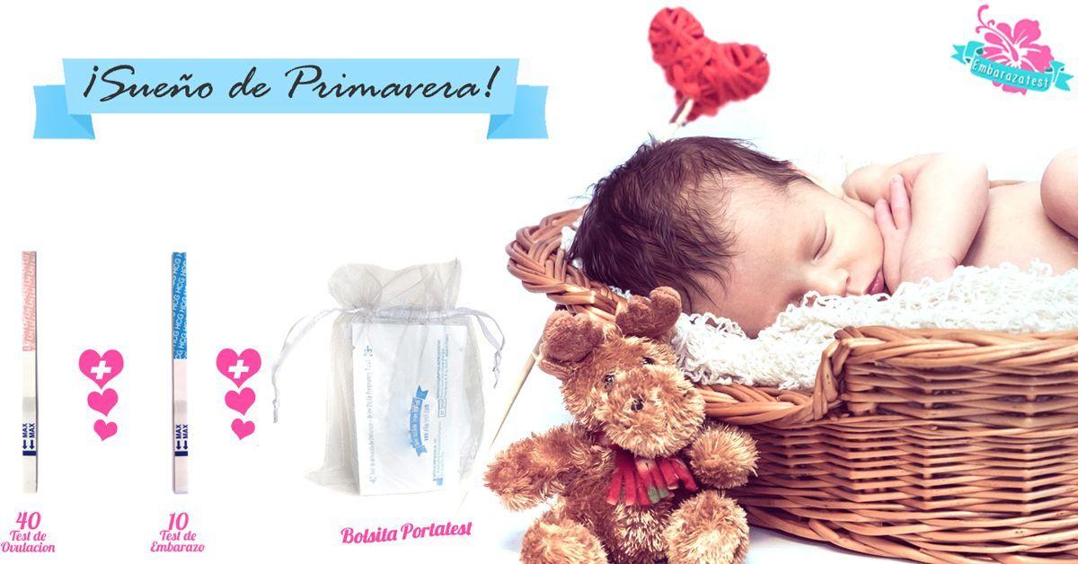 sueño de primavera - test de embarazo y ovulacion embarazatest
