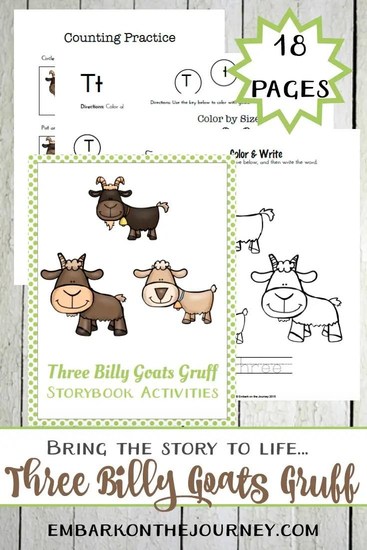 Gambar The Three Billy Goats Gruff Activities For Story Telling Jpeg ...