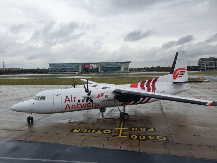 Fokker50 - Air Antwerp