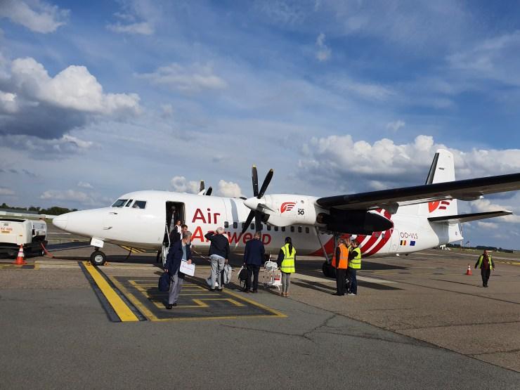 Air Antwerp - Retour