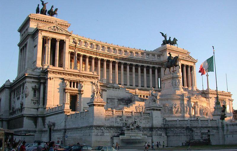 Roma Altare Patria Tramonto