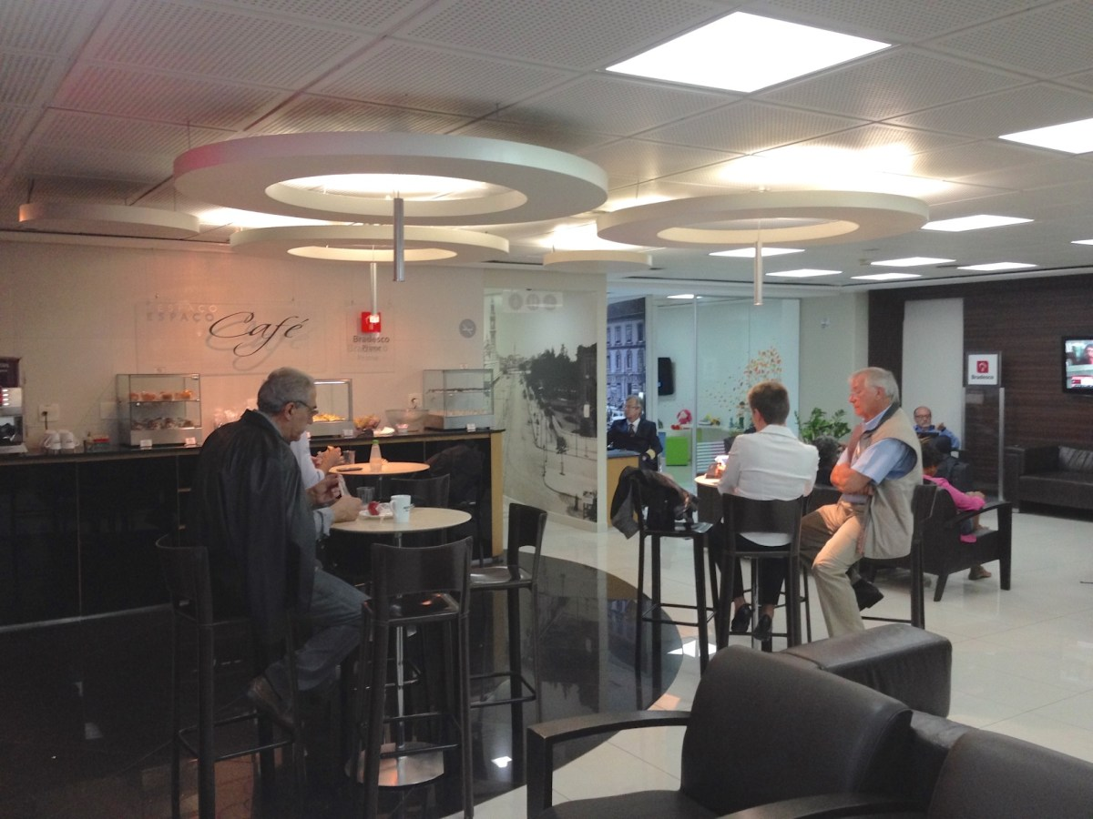 Sala VIP American Express Centurion Club no Aeroporto de São Paulo Guarulhos