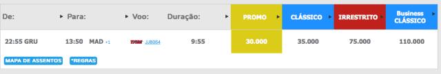 Passagem para a Europa a partir de R$ 1.568,00 com Tam / Multiplus