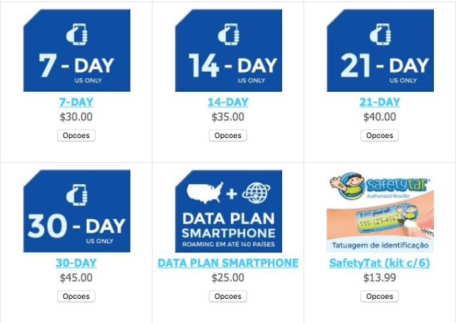 EasySim4You: internet no celular nos Estados Unidos