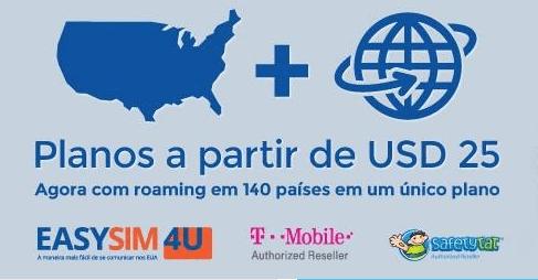 EasySim4Yu: internet no celular nos Estados Unidos