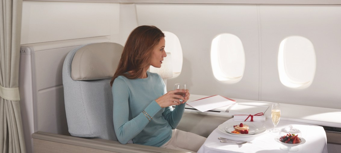 Air France apresenta cardápio estrelado com assinatura de dois chefs estrelados do guia Michelin nas cabines La Première e Business