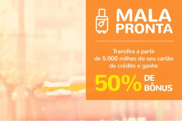 Smiles oferece 50% de bônus na transferência de pontos do cartão de crédito na promoção Mala Pronta