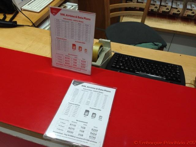 Cidade do Cabo: como comprar um chip de celular no aeroporto