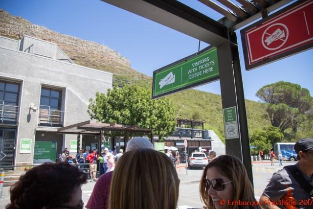 Cidade do Cabo: a Table Mountain