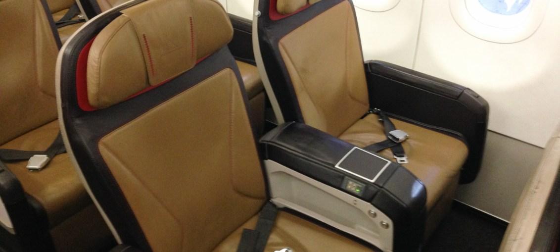 Classe executiva da South African Airways da Cidade do Cabo para Joanesburgo