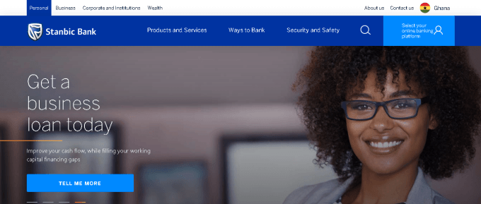 Stanbic Bank branches in Ghana with contacts
