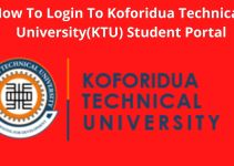 How To Successfully Login To Your Koforidua Technical University (KTU) Student Portal – Login With Ease