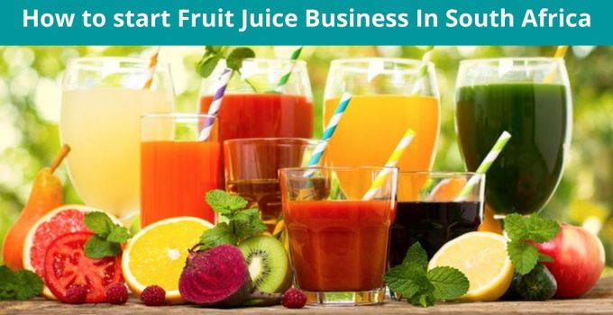 How to start Fruit Juice Business In South Africa