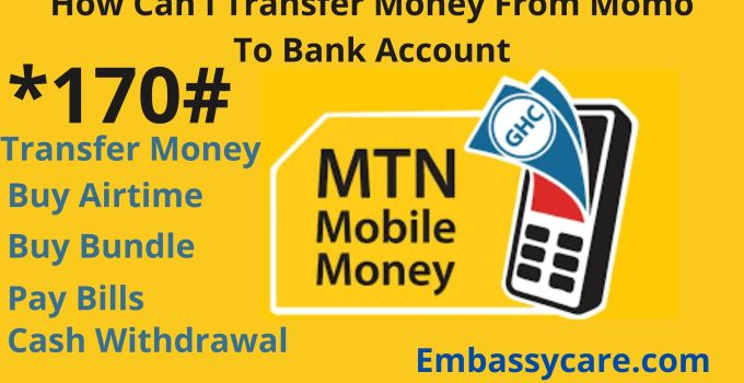 How To Transfer Money From Momo To Bank Account