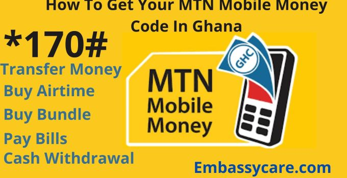 How To Get Your  MTN Mobile Money Code In Ghana – MoMo PIN