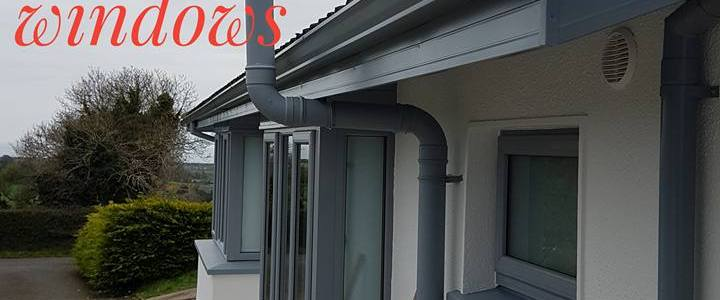 Matching your fascia, soffit & gutters to your windows
