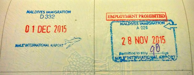 Maldives Visa Documents Required Embassy N Visa
