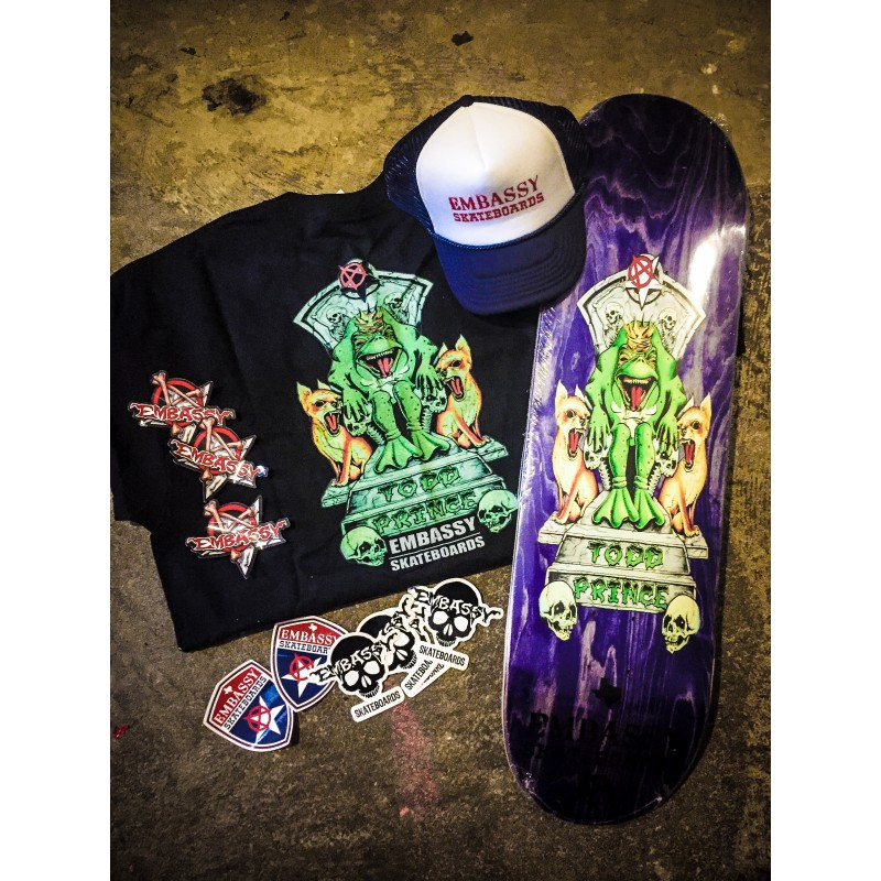 Embassy Skateboards, Todd Prince, Swag Bag