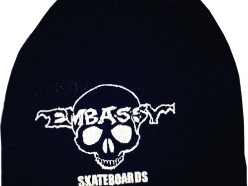 Embassy Skateboards Skully Beanie