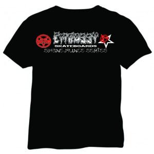Embassy Skateboards / Shane Munce Tee shirt collaboration