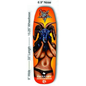 Embassy Skateboards, Sexy Ram Lady