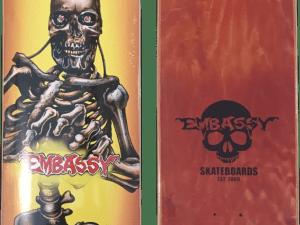 Embassy SkateboardsTerminator shape