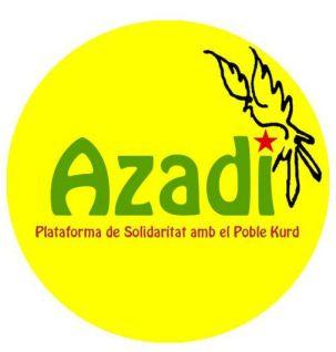 Azadi, Plataforma en Suport al Poble Kurd