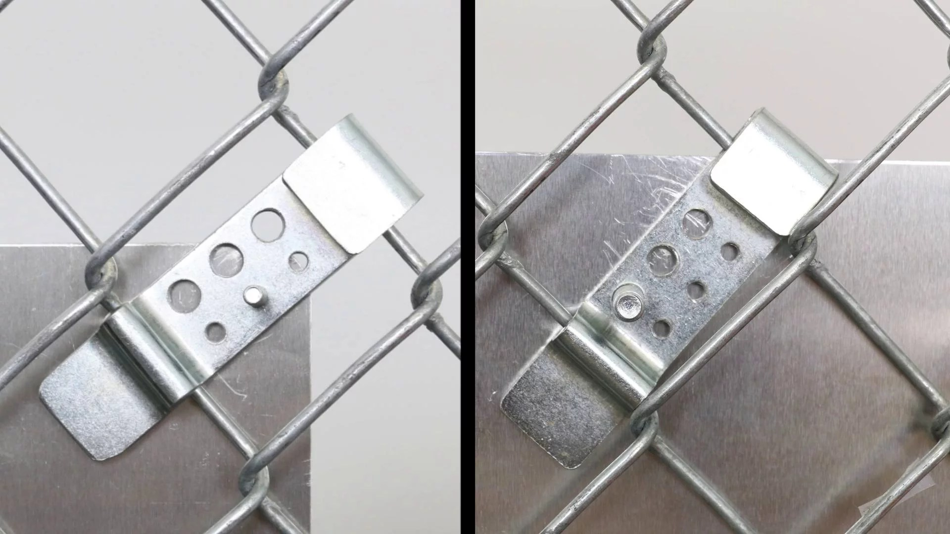 Sign Attachment Hardware Fence Brackets Posts Accessories