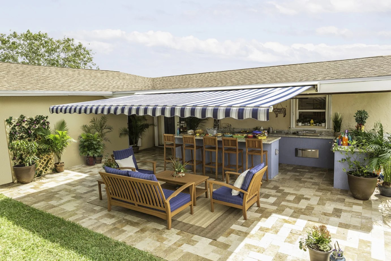 sunsetter motorized awnings