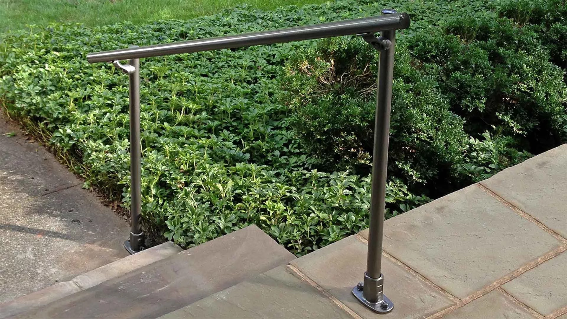 how to install a step handrail