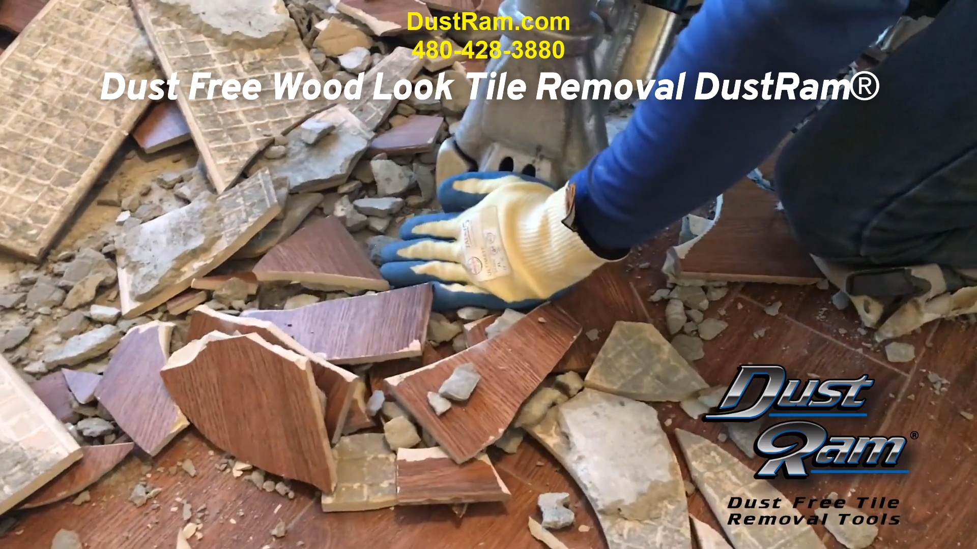 dust free wood look tile removal dustram