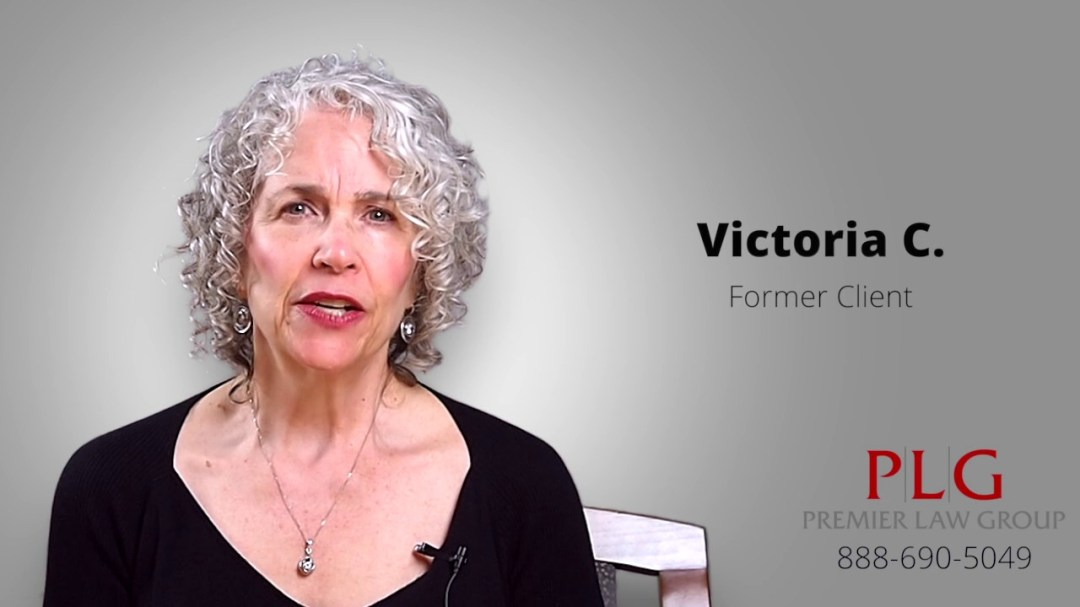 Listen to Victoria's experience with Premier Law Group